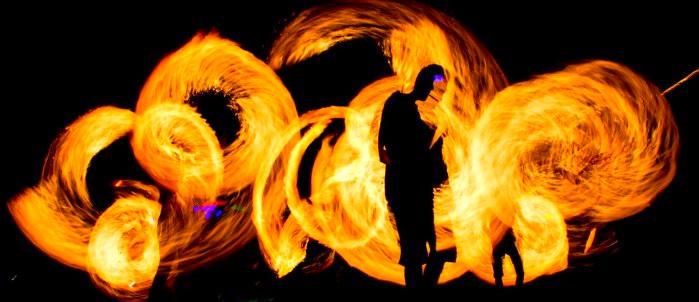 Pyroshows und Feuerschlucker im Ruhrgebiet