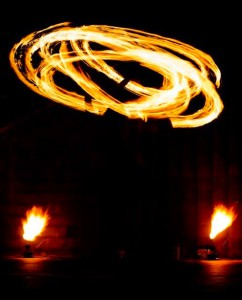 Pyroshows und Feuer schlucken vom Feuerkünstler aus Leverkusen